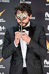 Paco Leon win the award at Feroz Awards 2017 in Madrid, Spain. January 23, 2017. (ALTERPHOTOS/BorjaB.Hojas)
