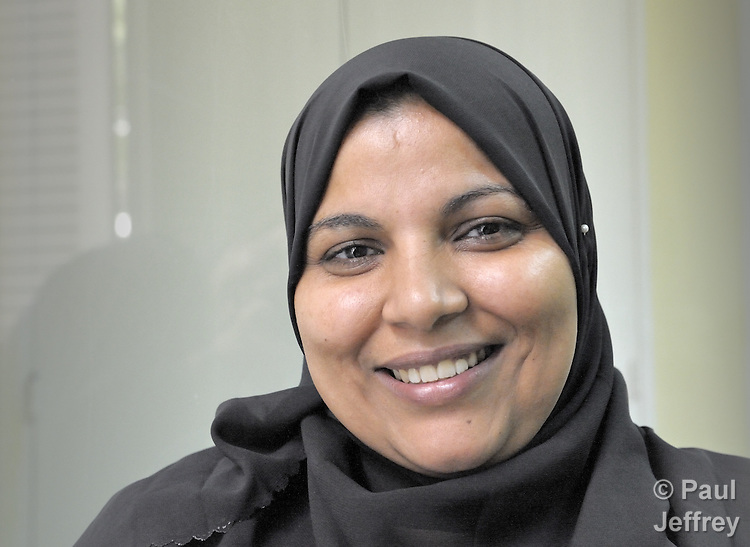 Hoda Salah Sayed is an Egyptian woman who was elected to her local municipal council in April 2008 as part of a push to include women in electoral politics sponsored by Catholic Relief Services.