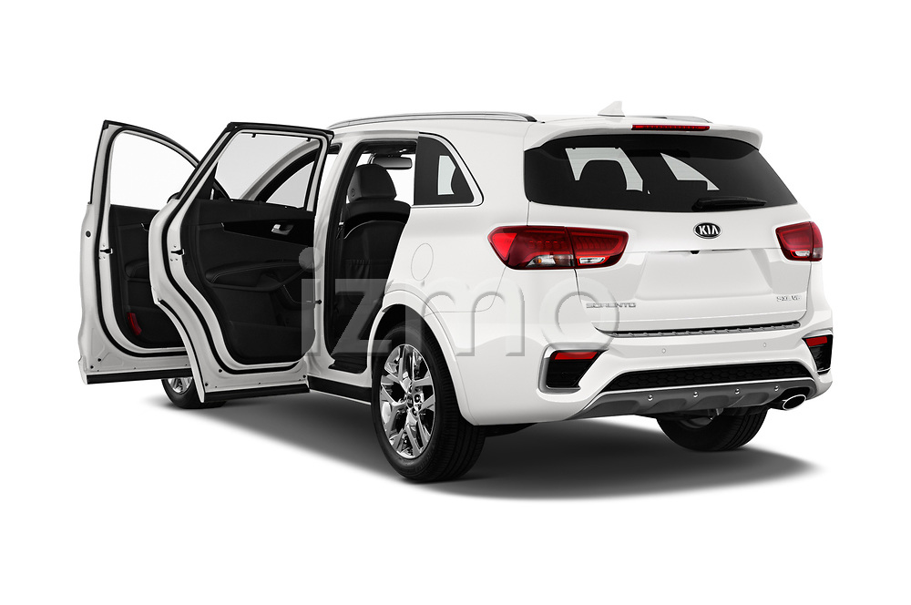 Car images close up view of a 2019 KIA Sorento SX Limited 5 Door SUV doors
