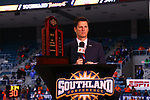 KATY - MARCH 15: University New Orleans v Sam Houston State University at Merrell Center in Katy on March 15, 2019 at Southland Conference Basketball Championship in Katy, Texas (Photo by Rick Yeatts)
