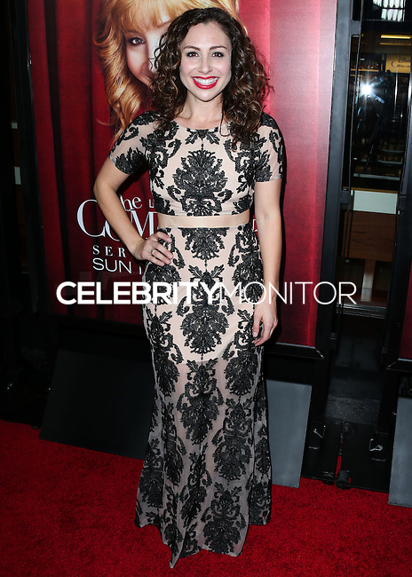 HOLLYWOOD, LOS ANGELES, CA, USA - NOVEMBER 05: Meryl Hathaway arrives at the Los Angeles Premiere Of HBO's 'The Comeback' held at the El Capitan Theatre on November 5, 2014 in Hollywood, Los Angeles, California, United States. (Photo by Xavier Collin/Celebrity Monitor)
