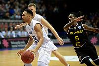 GRONINGEN - Basketbal, Donar - Telenet Giants Antwerp, Martiniplaza,  Europe Cup, seizoen 2017-2018, 06-12-2017,  Donar speler Brandyn Curry