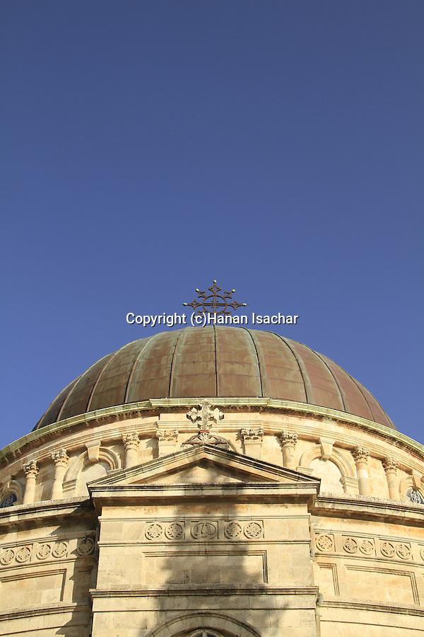 Israel, the dome of the Ethiopian Orthodox Church (Debra Gannet) in West Jerusalem