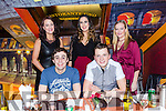 front l-r Garry Murphy, Sean Hanafin back l-r Norma O'Brien, Natalie Murphy and Janna Foley  enjoying a christmas night out at Ristorante Uno on Saturday