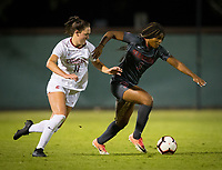 Stanford, CA - October 3, 2019: Madison Haley at Laird Q Cagan Stadium. The Stanford Cardinal beat the Washington State Cougars 5-0.