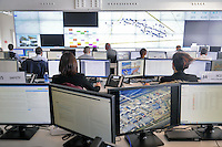 - Milano, Centrale Operativa Interforze di via Drago, da dove vengono controllati e gestiti accessi e sicurezza del traffico e la viabilit&agrave; attorno al sito espositivo dell'Expo<br />