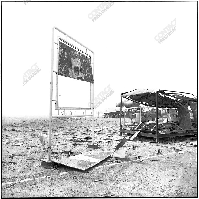 Gas station near As Salman, Iraq, February 25, 1991