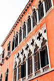 ITALY, Venice. The front facade of the Hotel Danieli.