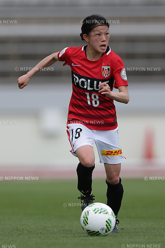 Hanae Shibata (Reds Ladies), April 30, 2016 - Football / Soccer : Hanae Shibata of Urawa Reds Ladies runs with the ball during the Nadeshiko League match between Urawa Reds Ladies and INAC Kobe Leonessa at Urawa Komaba Stadium in Saitama, Japan (Photo by AFLO)