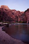 Colorado River, sunset