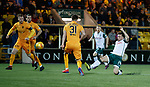29.03.2019 Livingston v Hibs: Stevie Mallan goes close