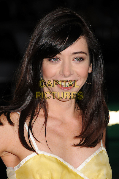 """ALYSON HANNIGAN .""""Forgetting Sarah Marshall"""" Los Angeles Premiere at Grauman's Chinese Theatre, Hollywood, California, USA..April 10th, 2008.headshot portrait .CAP/ADM/BP.©Byron Purvis/AdMedia/Capital Pictures."""