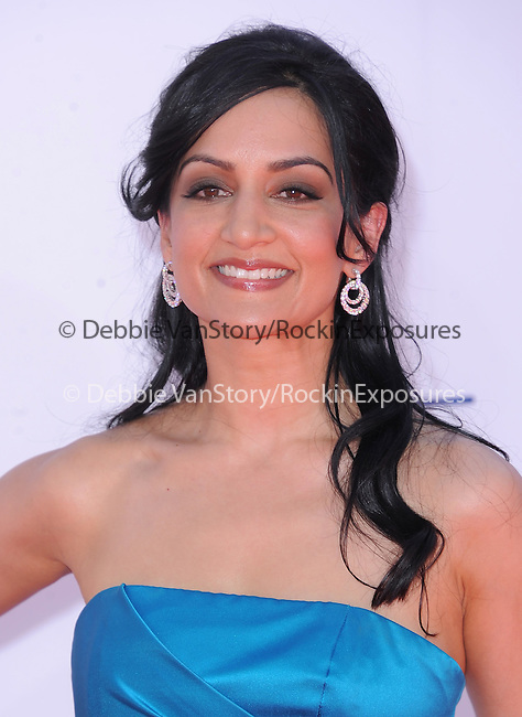 Archie Panjabi at The 64th Anual Primetime Emmy Awards held at Nokia Theatre L.A. Live in Los Angeles, California on September  23,2012                                                                   Copyright 2012 Hollywood Press Agency