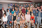 Ardfert sisters, Tara and Kelly Griffin (seated 3rd & 4th lt) both celebrated their 18th & 21st birthdays last Saturday night in the Abbey Inn, Tralee along with many friends and family.