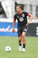 D.C. United midfielder Nick DeLeon (18) D.C. United tied The Philadelphia Union 1-1 at RFK Stadium, Saturday August 19, 2012.