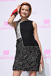 """Ai Tominaga, June 29, 2011.Swarovski and Hello Kitty collaboration jewelry line - Swarovski presents """"House of Hello Kitty"""" makes a debut at Omotesando Hills in Tokyo, Japan. This is also a charity event to help the Earthquake victims of Japan."""