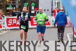 Brian OSe, 277 and Mark OShea, 281 who took part in the 2015 Kerry's Eye Tralee International Marathon Tralee on Sunday.