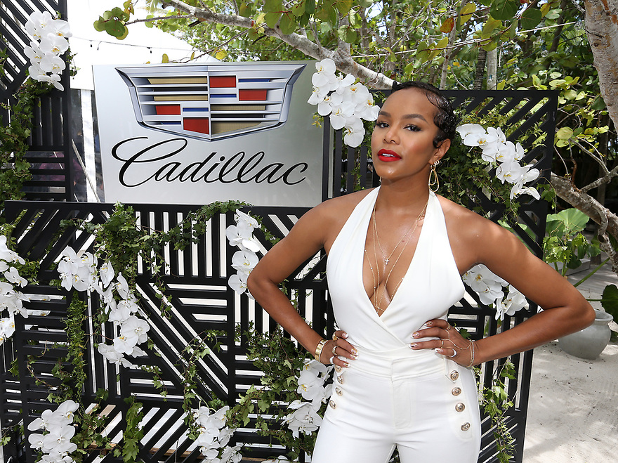 LeToya Luckett attends the ABFF kick off luncheon hosted by Cadillac on June 14, 2017 in South Beach Miami.