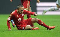 FUSSBALL   1. BUNDESLIGA  SAISON 2011/2012   29. Spieltag FC Bayern Muenchen - FC Augsburg       07.04.2012 Franck Ribery (FC Bayern Muenchen)