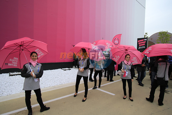 Giro d'Italia 2016 Presentation held at Expo Milano, Milan, Italy. 5th October 2015.<br /> Picture: Eoin Clarke | Newsfile