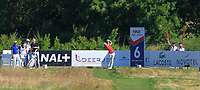 Lorenzo Gagli (ITA) on the 6th tee during Round 1 of the HNA Open De France at Le Golf National in Saint-Quentin-En-Yvelines, Paris, France on Thursday 28th June 2018.<br /> Picture:  Thos Caffrey | Golffile
