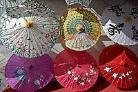 China Town Umbrellas on Display