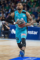 Movistar Estudiantes Omar Cook during Liga Endesa match between Movistar Estudiantes and Montakit Fuenlabrada at Wizink Center in Madrid, Spain. November 12, 2017. (ALTERPHOTOS/Borja B.Hojas) /NortePhoto.com