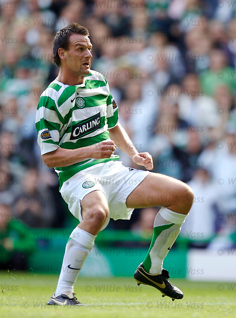 Jan Vennegoor of Hesselink, Celtic.stock season 2006-2007.pic willie vass