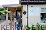 BOOTING THE BEARA:  Jenny pictured outside her Pedals & Boots Cafe and Cycle Hire Stop.