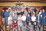 Kevin Griffin Woodlawn, Killarney seated centre who celebrated his 21st birthday with his family and friends in the Killarney Avenue Hotel on Saturday night..