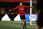ATLANTA, GA - DECEMBER 07: Atlanta United FC's Franco Escobar. The MLS Cup 2018 Team Training Sessions were held on December 7, 2018 at the Mercedes Benz Stadium in Atlanta, GA.