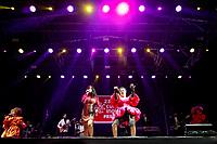SÃO PAULO, SP 09.06.2019: DUDA BEAT-SP - A cantora pernambucana Duda Beat se apresentou no 23º Cultura Inglesa Festival, que aconteceu na tarde deste domingo (09) no Memorial da América Latina, zona oeste da capital paulista. O show contou com a participação especial da cantora baiana Illy. (Foto: Ale Frata/Codigo19)