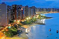 Praia do Mucuripe e Iracema em Fortaleza. Ceará. 2009. Foto de Ricardo Azoury.