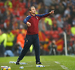 George Burley shouting on the touchlines