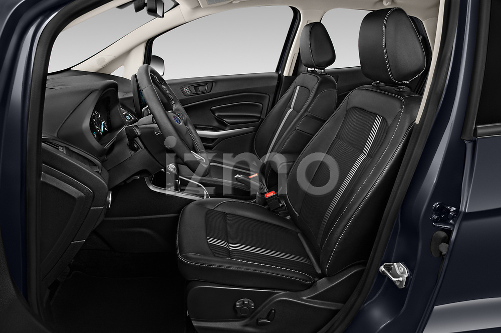 Front seat view of a 2019 Ford EcoSport SES 5 Door SUV front seat car photos