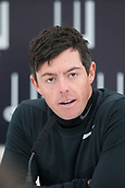 4th October 2017, The Old Course, St Andrews, Scotland; Alfred Dunhill Links Championship, practice round; Rory McIlroy, of Northern Ireland, speaks to the media Aftera practice round on the Old Course, St Andrews, before the Alfred Dunhill Links Championship