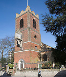 Saint Peter's Church, North Hill, Colchester, Essex, England