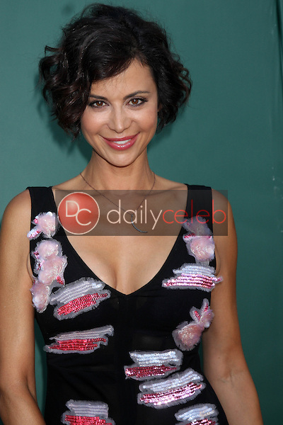 LOS ANGELES - JUL 8:  Catherine Bell at the Crown Media Networks July 2014 TCA Party at the Private Estate on July 8, 2014 in Beverly Hills, CA