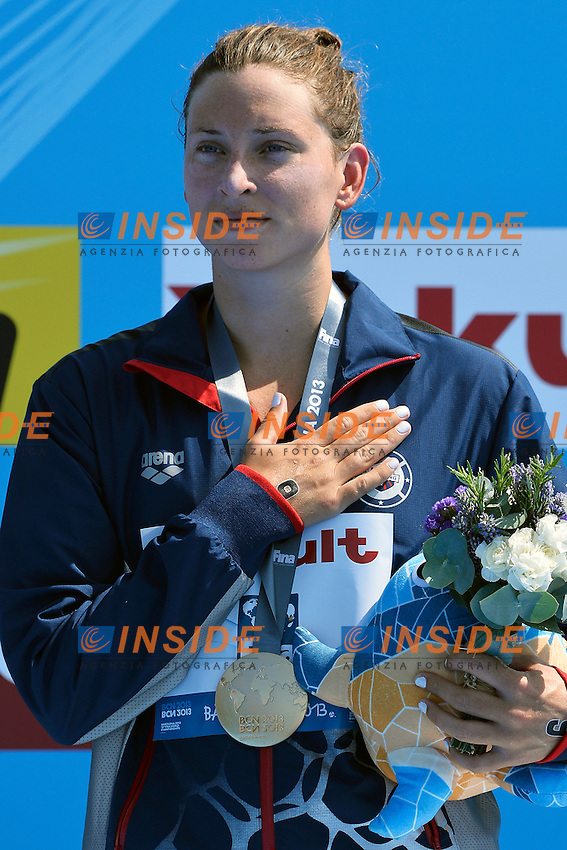 Haley Danita Anderson Usa gold <br /> Open Water 5 Km Women Nuoto Acque Libere fondo Donne <br /> Barcellona 20/7/2013 Moll de la Fusta<br /> Barcelona 2013 15 Fina World Championships Aquatics <br /> Foto Andrea Staccioli Insidefoto