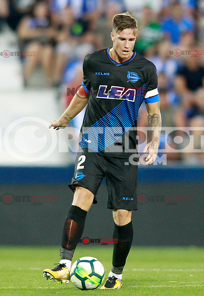 Deportivo Alaves' Carlos Vigaray during La Liga match. August 18,2017. (ALTERPHOTOS/Acero) /NortePhoto.com