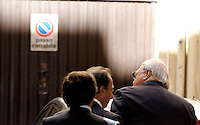 L'imprenditore statunitense Thomas Richard DiBenedetto arriva allo studio legale Tonucci a Roma, 31 marzo 2011..UPDATE IMAGES PRESS/Riccardo De Luca