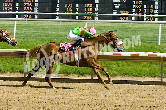 Mindy Sue winning The Winter Melody Stakes at Delaware Park on 5/8/10