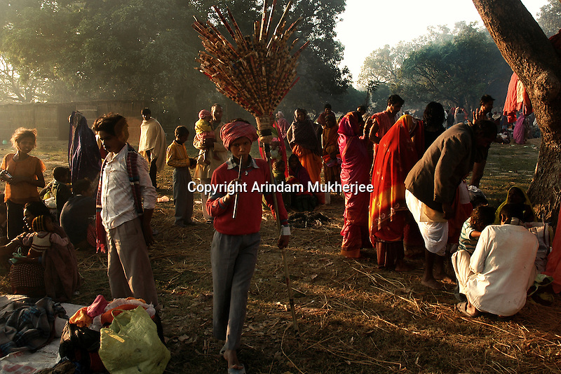 A young flute seller at Sonepur fair ground. Bihar, India, Arindam Mukherjee