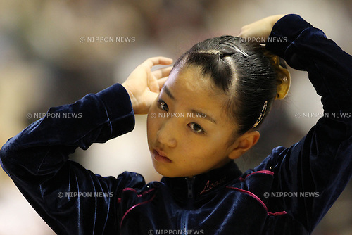 Asuka Teramoto (JPN), .MAY 4, 2012 - Artistic Gymnastics : .The 51st NHK Cup .Women's Individual All-Around Competition .Uneven Bars .at Yoyogi 1st Gymnasium, Tokyo, Japan. .(Photo by YUTAKA/AFLO SPORT) [1040]