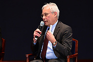 "Washington, DC - January 23, 2018: Dr. Don Berwick, former administrator for Medicare and Medicaid Services, participates in a ""Medicare Town Hall"" panel discussion held by U.S. Senator Bernie Sanders at the U.S. Capitol Visitor's Center auditorium January 23, 2018, in conjunction with NowThis and The Young Turks.  (Photo by Don Baxter/Media Images International)"