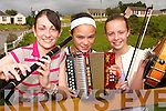 MUSIC NOTES:Hitting the right  notes at the Sliabh Luachra Summer School in Rockchapel on Thursday last were Sinead Guiney (Newmarket), Taea Finnucane (Knockanure) and Megan O'Mahony (Rockchapel)..