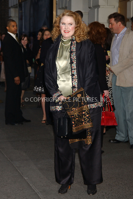 "WWW.ACEPIXS.COM . . . . . ....April 19 2006, New York City....CELIA WESTON....Arrivals at the opening night of ""Three Days of Rain"" staring Julia Roberts at the Bernard B Jacobs Theatre in midtown Manhattan....Please byline: KRISTIN CALLAHAN - ACEPIXS.COM...... . . . . . ..Ace Pictures, Inc:  ..(212) 243-8787 or (646) 679 0430..e-mail: picturedesk@acepixs.com..web: http://www.acepixs.com"