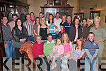 Ger O'Sullivan Barradubh seated centre celebrates his 30th birthday with family and friends in the Killarney Avenue Hotel on Saturday night   Copyright Kerry's Eye 2008