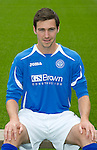 St Johnstone FC...Season 2011-12.Carl Finnigan.Picture by Graeme Hart..Copyright Perthshire Picture Agency.Tel: 01738 623350  Mobile: 07990 594431