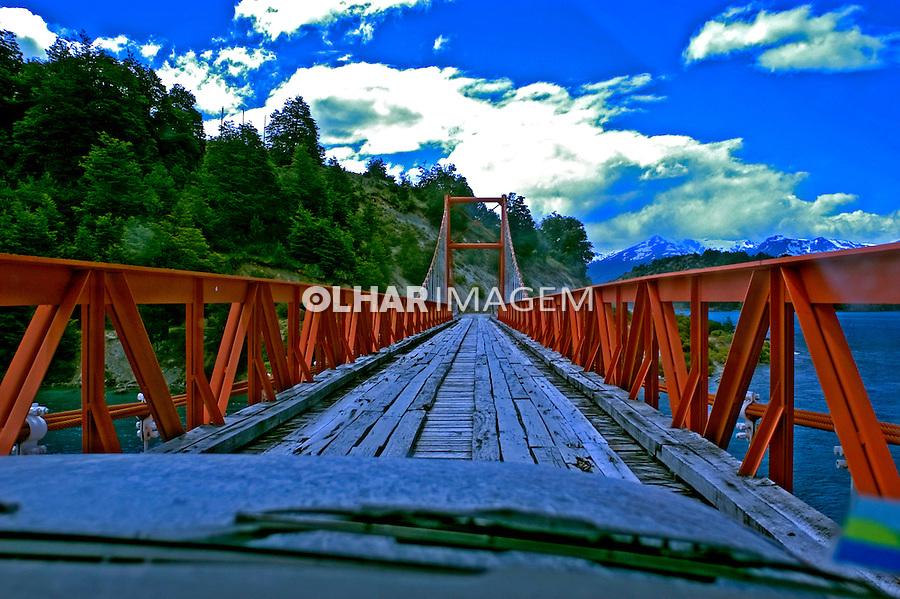 Ponte da rodovia Panamericana. Chile. 2004. Foto de Maristela Colucci.